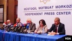 MSK sədri Məzahir Pənahovun mətbuat konfransı