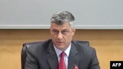"""Thaçi:""""Kushtetuta dhe sovraniteti i Kosovës përtej çdo partneriteti"""""""