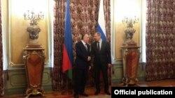 Sergey Lavrov və Elmar Məmmədyarov