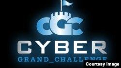 Logo Tantangan Besar Dunia Maya Badan Riset Pertahanan Lanjutan (DARPA).