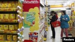 Chỉ số giá tiêu dùng trong tháng 10 tăng 7% so với cách đây một năm