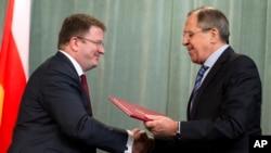 Давид Санакоев и Сергей Лавров