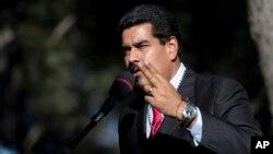 니콜라스 마두로 베네수엘라 대통령.(자료사진)