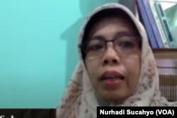 Peneliti PSKP UGM,Dr Arifah Rahmawati. (Foto: VOA/Nurhadi)