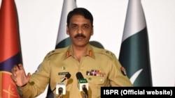 میجر جنرل آصف غفور (فائل)