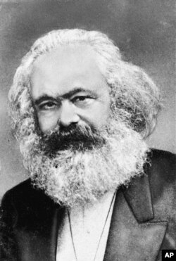 Karl Marx, one of the authors of The Communist Manifesto.