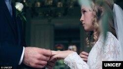 研究發現美國童婚仍然存在。(聯合國兒童基金會圖片)