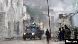 Somalijske snage u prestonici Mogadišu