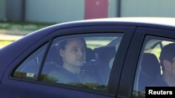FILE - Former Guantanamo Bay detainee David Hicks, an Australian, leaves Yatala Prison, Adelaide, Dec. 29, 2007.