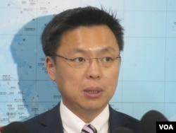 台湾执政党民进党立委赵天麟(美国之音张永泰拍摄 )