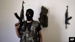 Expatriate Syrians create Washington lobby to help arm rebels in nine military councils of the Free Syrian Army (AP)