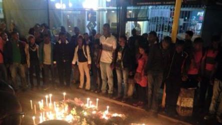 Vigília em homenagem a Gilles Cistac, Maputo, Moçambique
