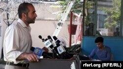 مجیب خلوتگر، رئیس «نی» موسسه حمایت از رسانه های آزاد افغانستان