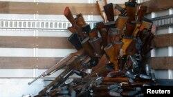 Kepolisian Daerah Metro Jaya melakukan operasi penyitaan senjata api ilegal menyusul maraknya kasus perampokan di Jakarta. (Foto: Ilustrasi)
