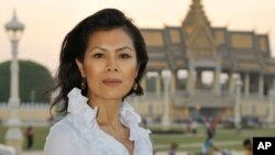 Seng Theary,head of Association of Khmer Rouge Victims in Cambodia.