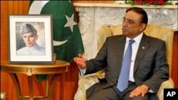 پاکستانی صدر آصف علی زرداری