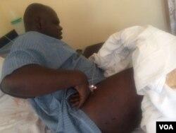 UMnu. Silvanos Mudzova owenhlanganiso ye Tajamuka owabhaxabulwa ngabamthumbayo.