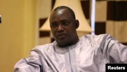 Adama Barrow à Banjul, en Gambie, le 12 décembre 2016.