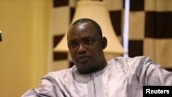 Rais mteule wa Gambia Adama Barrow