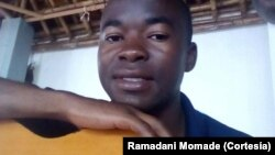 Ramadani Momade, cantor, Moçambique