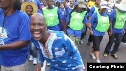 Une marche de l'Alliance démocratique, Durban, avril 2014