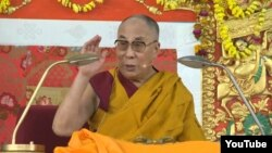 FILE - Tibetan spiritual leader the Dalai Lama.