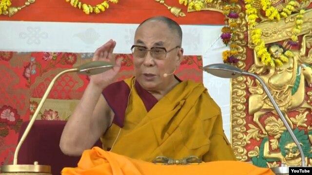 FILE - Tibetan spiritual leader the Dalai Lama.