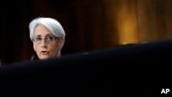 Direktur Jenderal Departemen Luar Negeri Amerika, Wendy Sherman dalam perundingan tentang nuklir Iran. (Foto: dok.)