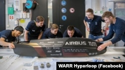 Команда WARR Hyperloop