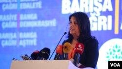 HDP Eş Başkanı Pervin Buldan
