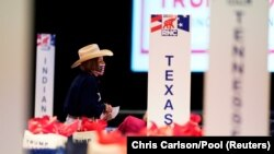 Day 1 of Republican National Convention, in Charlotte, North Carolina