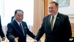 Ông Kim Yong Chol đã có cuộc gặp với Ngoại trưởng Mỹ Mike Pompeo ở Washington