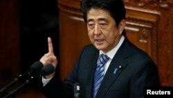 លោកនាយករដ្ឋមន្ត្រីជប៉ុន ស្ស៊ិនហ្សូ អាបេ (Shinzo Abe)