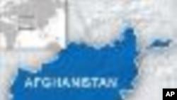 阿富汗地理位置图案(VOA 档案)