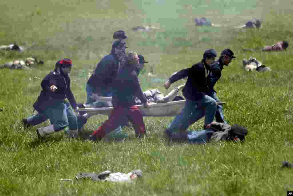 La batalla de Gettysburg fue la más sangrienta de la guerra civil, con unos 51.000 muertos.