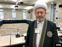 Uzbekistan's Grand Mufti Usmankhan Alimov, May 21, 2019, Washington