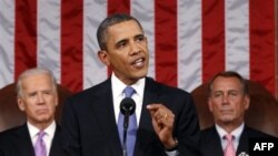 Predsednik Obama održao je govor na zajedničkom zasedanju oba doma Kongresa, 8. septembra 2011.