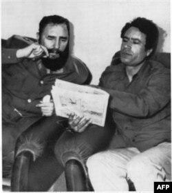 Kuba rahbari Fidel Kastro bilan
