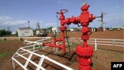 Нефтепровод в городе Хеглиг