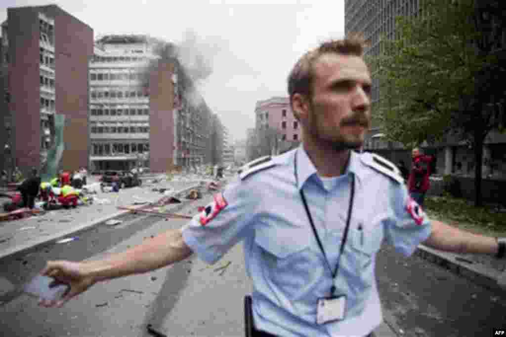 Oslo'daki Bombalı Saldırı