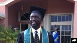 George Weah graduates from college