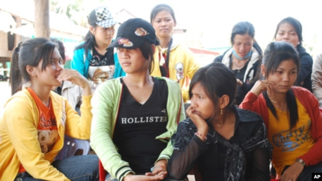 The Cambodian government has promoted migrant work abroad as one way to ease unemployment.