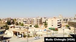 Thành phố Qamishli của người Kurd ở Syria.