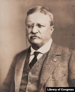 Theodore Roosevelt in 1918