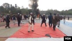 Attentat dans la province de Takhar en Afghanistan le 13 octobre 2018.