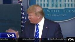 La Casa Blanca anunció que la sesión del lunes fue cancelada, solo para revertir el curso horas después y volver a poner la sesión informativa en el calendario de Trump.