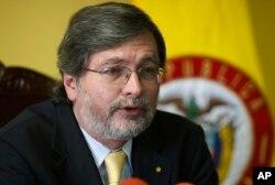 Archivo. Vice ministro de Relaciones Exteriores de Ecuador, Andrés Terán.