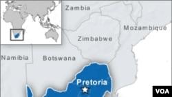 Keempat warga Afrika Selatan ditangkap Jumat, di sebuah pompa bensin di Pretoria.