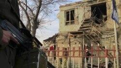 کشته شدن یک پلیس افغان در بمب گذاری انتحاری