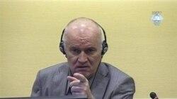 محاکمه راتکو ملادیچ در دادگاه لاهه ادامه می يابد